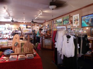 Coffees of Hawaii Gift Shop; Made on Molokai products